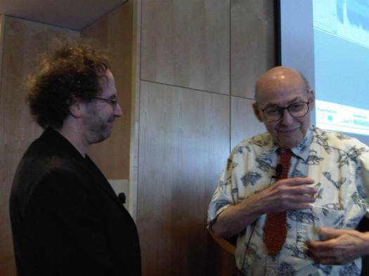 Tod Machover and Marvin Minsky