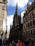 The Edinburgh International Festival has its its offices - called The Hub - in this church on the Royal Mile.
