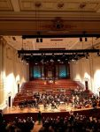 Gorgeous Usher Hall where I attended a concert last evening by the RSNO playing Ives, Feldman and Walton. Felt fulfilled after the Ives and Feldman (and exhausted with jetlag) so left at intermission.