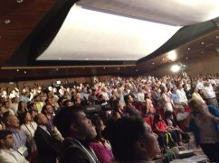 """The crowd at the INK Conference, which was supplemented by a """"spill-over"""" room of ca. 500 people, several miles away."""
