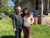 It was a privilege to meet Kate Daughdrill and to learn about her visionary combination of urban farming, art making, and deep community building. Only in Detroit! Only Kate!!! http://www.cosmopolitan.com/career/news/a30445/get-that-life-kate-daughdrill-urban-farmer-artist/