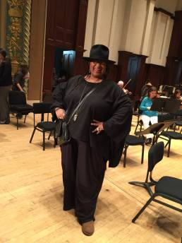 Marsha Music seems to enjoy being in stage at Detroit's Orchestra Hall, where she performed an amazing new text about the city's history and significance.
